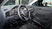 2015 Skoda Fabia interior at the 2014 Paris Motor Show