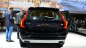 2015 Volvo XC90 black rear at the 2014 Paris Motor Show