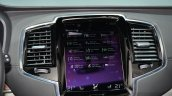 2015 Volvo XC90 centre console at the 2014 Paris Motor Show