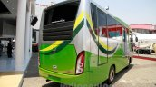 23-seat Tata LP 713 Bus at the 2014 Indonesia International Motor Show rear quarters
