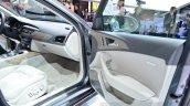 Audi A6 facelift door trim at the 2014 Paris Motor Show