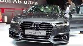 Audi A6 facelift front fascia at the 2014 Paris Motor Show