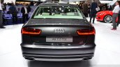 Audi A6 facelift rear at the 2014 Paris Motor Show