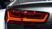 Audi A6 facelift taillamp left at the 2014 Paris Motor Show
