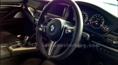 BMW M5 facelift dashboard in India