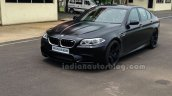 BMW M5 facelift front three quarters right in India