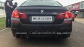 BMW M5 facelift rear in India