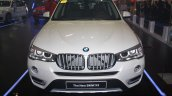 BMW X3 facelift front at 2014 Philippines Motor Show