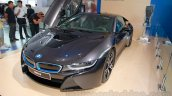 BMW i8 front three quarters right at the 2014 Indonesia International Motor Show