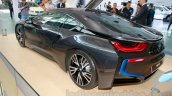 BMW i8 rear three quarters at the 2014 Indonesia International Motor Show