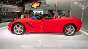 Chevrolet Corvette Stingray convertible side at the Indonesia International Motor Show 2014