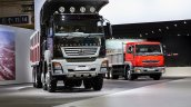 DICV's BharatBenz 3143 concept and Fuso FJ 2528 R LHD at the IAA 2014 Hannover
