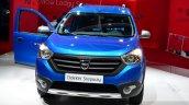 Dacia Dokker Stepway front fascia at the 2014 Paris Motor Show