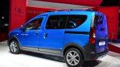 Dacia Dokker Stepway rear three quarters at the 2014 Paris Motor Show