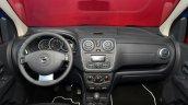 Dacia Lodgy Stepway dashboard at the 2014 Paris Motor Show