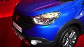 Dacia Lodgy Stepway nose at the 2014 Paris Motor Show