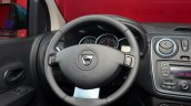 Dacia Lodgy Stepway steering wheel at the 2014 Paris Motor Show