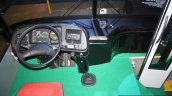 Daewoo Bus BF 106 dashboard at the Philippines International Motor Show 2014