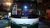 Daewoo Bus BF 106 front at the Philippines International Motor Show 2014