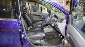 Daihatsu Xenia Indigo front seats at the 2014 Indonesia International Motor Show