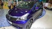 Daihatsu Xenia Indigo front three quarters right at the 2014 Indonesia International Motor Show