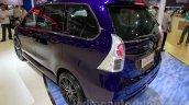 Daihatsu Xenia Indigo rear three quarters left at the 2014 Indonesia International Motor Show