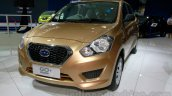 Datsun Go+ Panca at the 2014 Indonesia International Motor Show front quarter