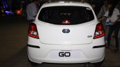 Datsun Go rear at the 2014 Nepal Auto Show