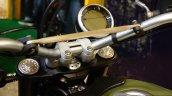 Ducati Scrambler digital instrument console at INTERMOT 2014
