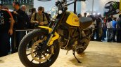 Ducati Scrambler front three quarter at INTERMOT 2014