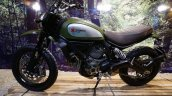Ducati Scrambler green side at INTERMOT 2014