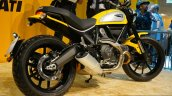 Ducati Scrambler yellow at INTERMOT 2014