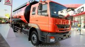 FUSO FJ 2523R 6×2 Heavy tanker front three quarters left at the 2014 Indonesia International Motor Show