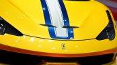 Ferrari 458 Speciale Aperta bumper at the 2014 Paris Motor Show