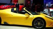 Ferrari 458 Speciale Aperta profile at the 2014 Paris Motor Show