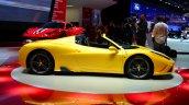 Ferrari 458 Speciale Aperta side at the 2014 Paris Motor Show