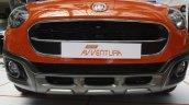 Fiat Avventura at Mumbai front grille