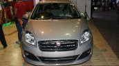 Fiat Linea facelift front at the 2014 Nepal Auto Show