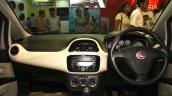Fiat Linea facelift interior at the 2014 Nepal Auto Show