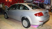 Fiat Linea facelift rear left three quarter at the 2014 Nepal Auto Show