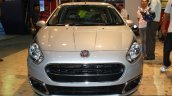 Fiat Punto Evo front at the 2014 Nepal Auto Show