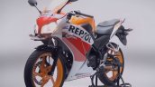 Honda CBR150R facelift front three quarters left