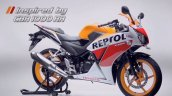 Honda CBR150R facelift front three quarters