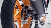 Honda CBR150R facelift rear disc brake
