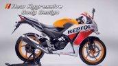 Honda CBR150R facelift side