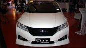 Honda City Mugen front at the Philippines Internatinal Motor Show 2014