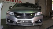 Honda City front at the 2014 Nepal Auto Show