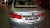 Honda City rear at the 2014 Nepal Auto Show