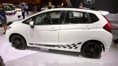 Honda Jazz RS Black Top side view at the Indonesia International Motor Show 2014