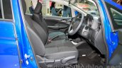 Honda Jazz front seats at the Indonesia International Motor Show 2014